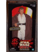 1999 Star Wars Episode 1 Obi Wan kenobi 12 inch Figure New In The Box - $24.99