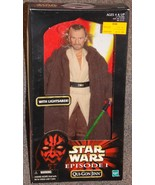 1998 Star Wars Episode 1 Qui Gon Jinn 12 inch Figure New In The Box - $24.99
