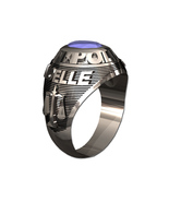 POLICE RING LADIES TRADITIONAL-Silvertone - $219.00