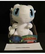 "How to train your Dragon The Hidden World Squeeze & Growl 10"" Light Fury... - $49.39"