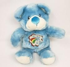 "13"" VINTAGE DAN DEE BABY BLUE TEDDY BEAR SNOWFLAKES STUFFED ANIMAL PLUSH... - $64.52"