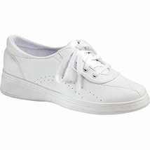 Grasshoppers Women's Avery Fashion Sneaker , White, 6 Extra Wide - $29.69