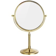 DOWRY 8-Inch Tabletop Swivel Vanity Magnifying Mirror 10x Magnification,... - $59.61