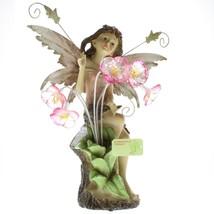 Peony Fairy Solar Statue - $77.62