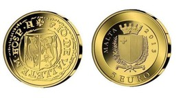 Malta GOLD Coin - THE PICCIOLO - Smallest Smallest Gold Coin Programme - $76.00