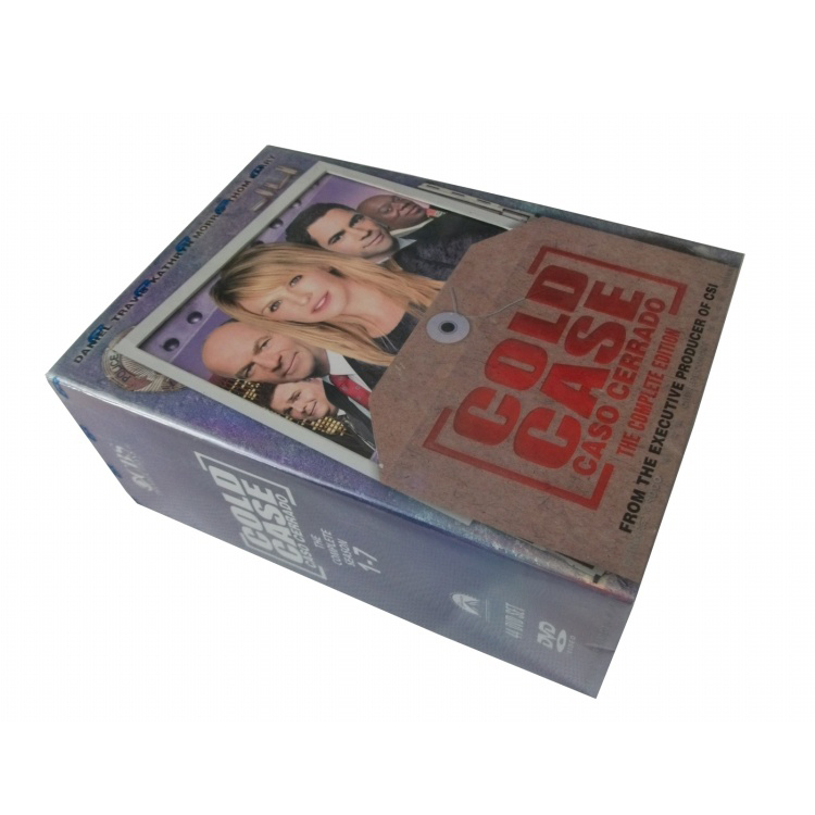 Cold Case The Complete Series Seasons 1-7 DVD Box Set 44 Disc Free Shipping