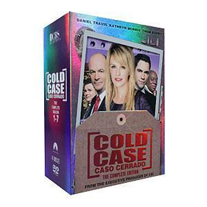 Brand New Cold Case Complete Seasons 1-7 (DVD, 2016, 44-Disc Set) Free Shipping