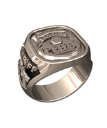 POLICE BADGE RING-Sterling Silver - $449.00
