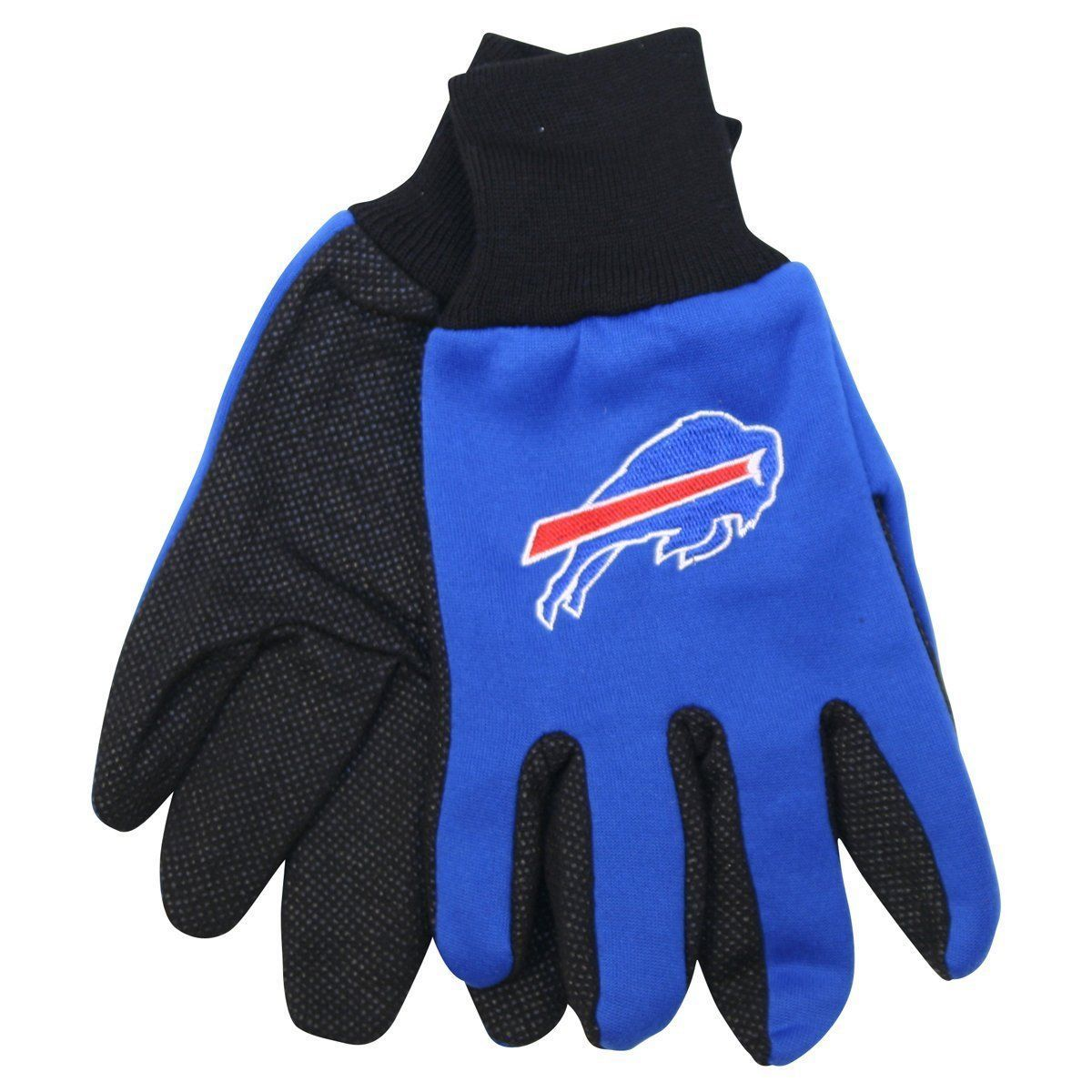 BUFFALO BILLS TEAM TAILGATE GAME DAY PARTY UTILITY WORK GLOVES NFL FOOTBALL