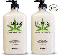 Hempz Herbal Moisturizer 17 Oz 2 Pack - $44.23