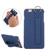For iPhone 6/6s Blue Denim Leather Case with Ho... - $9.49