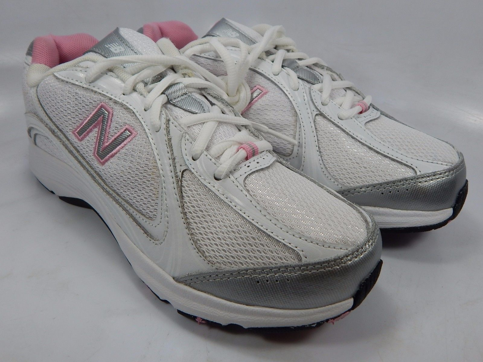 1fcbc45fc2c1 New Balance 496 Women s Walking Shoes Size US 8.5 M (B) EU 40 White Pink  WW496WP