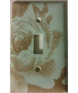 Decorative Rose light Cover home wall decor outlet lighting switch plate... - $7.75