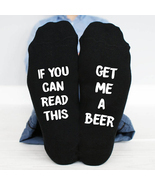 If You Can Read This, Get Me A Beer Socks Mens - $191,66 MXN