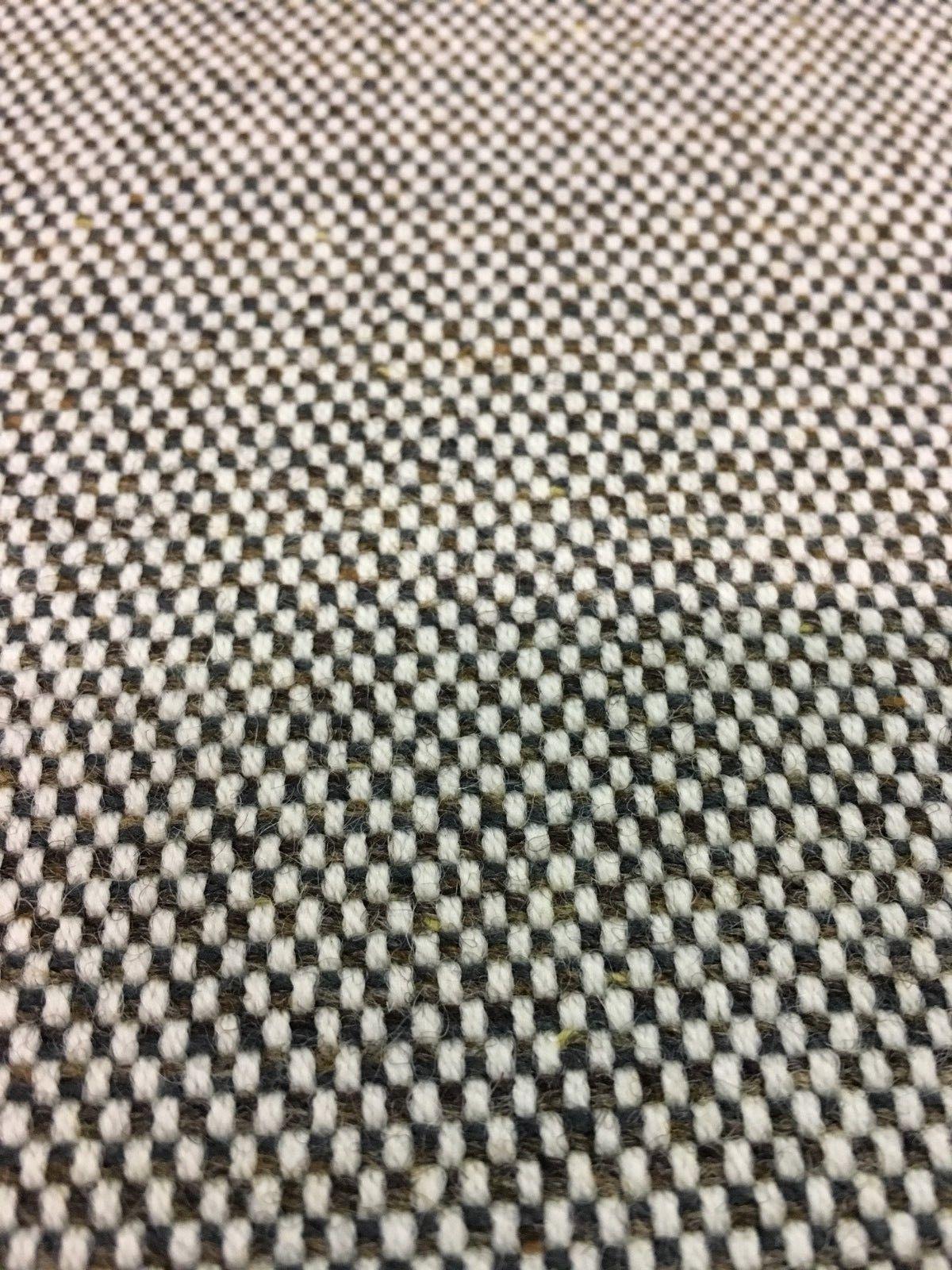 Geiger Upholstery Fabric Mid Century Wool Tweed Gray 1.625 yds - W