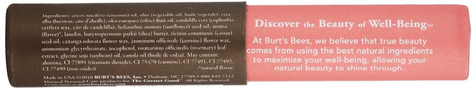 Burt's Bees Tinted Lip Balm, Hibiscus, 0.15 Ounce