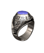 US AIR FORCE RING MENS TRADITIONAL-Sterling Silver - $325.00
