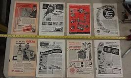 5AA15 Mechanix Illustrated Ads: Power Tools - Craftsman, Delta, Power King, Etc - $19.66