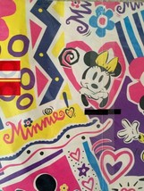 Vintage Cleo Disneys Minnie Mouse Minnie Quality Heavyweight Gift Wrapping Paper - $14.92