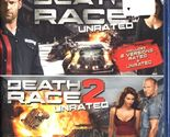 DEATH RACE & DEATH RACE 2 UNRATED DOUBLE FEATURE NEW RARE