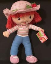KELLYTOY - STRAWBERRY SHORTCAKE - 2008 Plush Doll - 16 inches - $11.49