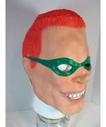 BATMAN'S THE RIDDLER (JIM CARREY) FULL OVERHEAD LATEX MASK HALLOWEEN COS... - $11.87