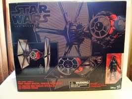 STAR WARS BLACK SERIES 01 SPECIAL FORCES TIE FIGHTER W/PILOT FIGURE FACT... - $138.59