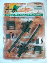 """21ST CENTURY ULTIMATE SOLDIER STINGER ANTI-AIRCRAFT WEAPONS 12"""" FIGURE SET - $19.79"""