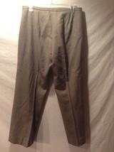 Women's Calvin Klein Gray Dress Pants Size 10 image 4