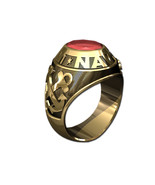 US NAVY RING MENS TRADITIONAL-14KT GOLD - $1,599.00