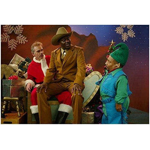 4bbf6803ff352 Bad Santa Bernie Mac as Ginsitting onBilly Bob Thornton as Willie s lap
