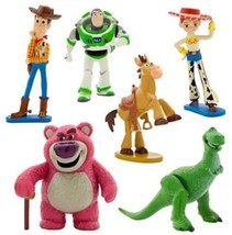 Toy Story Figure Play Set Small Mini Christmas Gift Collection Disney Pi... - $40.21