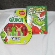 Dr. Seuss' The Grinch DVD & PEZ Candy Grinch Gift Tin, 1.74 Ounce New - $28.05
