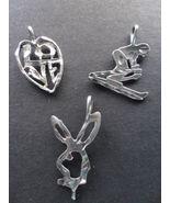 VTG. Sterling Silver Charms  - $15.95