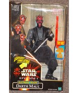 1999 Star Wars Episode 1 Electronic Talking Darth Maul Figure New In The... - $29.99