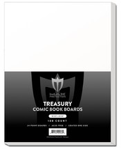 25 Individual Max Pro Premium Treasury Size Comic Book Boards - WHITE - $19.99