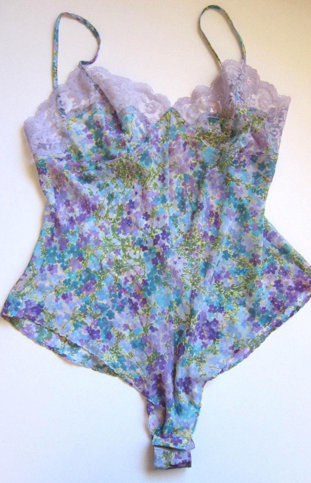 1df7ddebc Vintage Victoria s Secret Nwt Floral Sheer and 11 similar items. S l1600