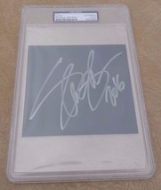"Slash Guns & Roses Autographed Signed  5"" x 5.5"" Cut PSA Certified & Sla... - $149.99"