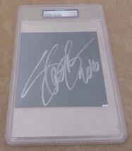 """Slash Guns Roses Autographed Signed  5.25"""" x 5.25"""" Cut PSA Certified & S... - $149.99"""