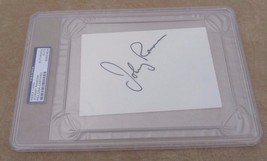 Johnny Ramone 2002 Autographed Signed  4x6 Index Card PSA Certified & Sl... - $149.99