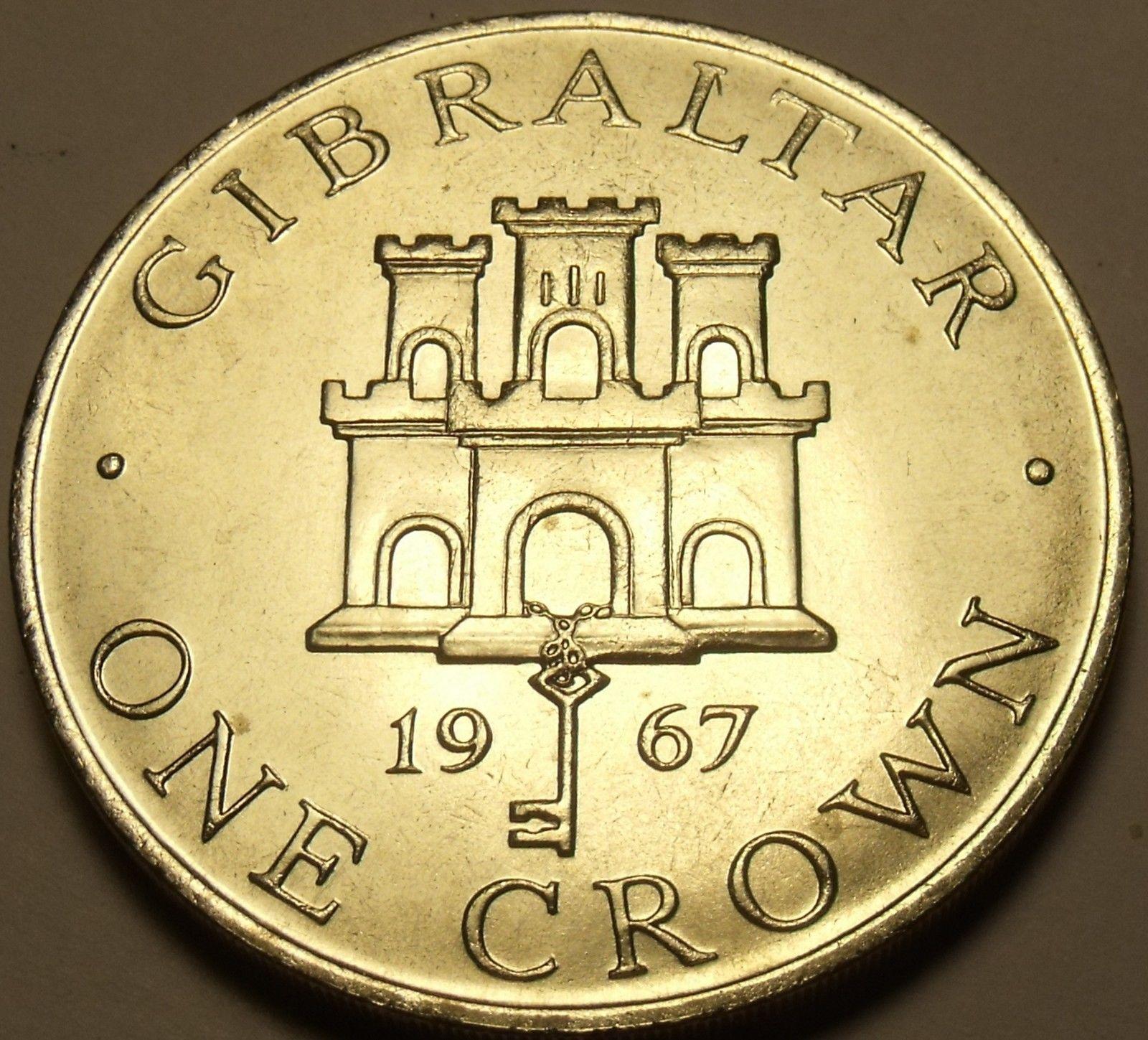 Rare Silver Proof Panama 1967 Half Balboa~19,983 Minted
