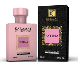 Fatina 50ml Perfume Oil by Karamat Collection Floral Rose Musk Wood Patchouli - $14.38