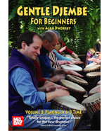 Gentle Djembe For Beginners,Vol 3 DVD/Alan Dworsky - $13.99