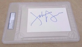 Jackson Browne Autographed Signed Large 4x6 Index Card PSA Certified & S... - $109.99
