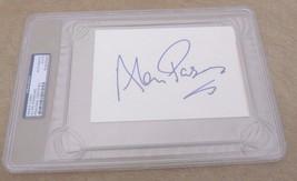 Alan Parsons Autographed Signed Large 4x6 Index Card PSA Certified & Sla... - $99.99