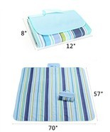 Picnic Blanket, PYRUS Water-Resistant Tote Beac... - £15.38 GBP