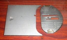 Singer 629E Straight Stitch Throat Plate #179015 & Bed Slide Plate #163477 - $15.00