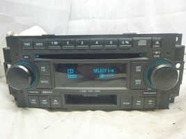 05-09 Chrysler Dodge RAK Radio 6 Disc Cd Mp3 Cassette Player P05091523AN... - $58.45