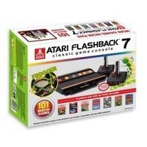 Plug & Play Atari Flashback 7 Classic Game Console Retro 101 Built-in Ga... - $69.98