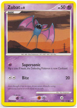 Zubat 108/123 Common Mysterious Treasures  Pokemon Card - $0.49